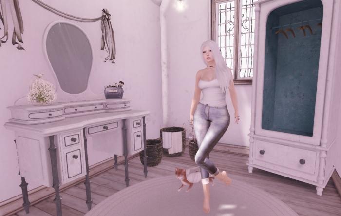 wardrobe, dressing table